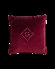 Velvet G Cushion 50x50 Carbernet red