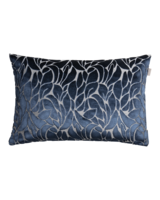 Velvet Leaf Cushion 40x60 Marine
