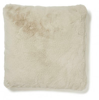 Fluffy pillowcase Beige