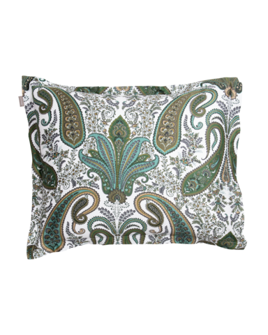 Key West Paisley Pillow cover 50x60 Olive green