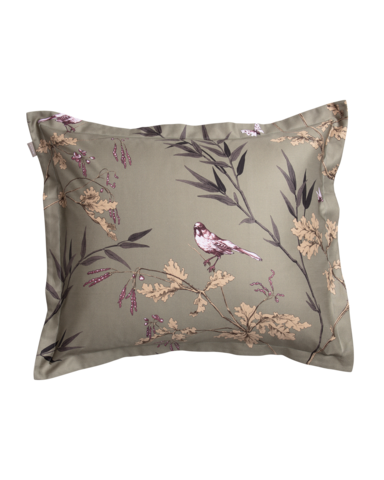 Birdfield Pillowcase 50x60 Dark cactus