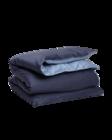 Sateen Duo Single duvet 150x210 Sateen blue