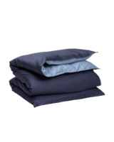Sateen Duo Single duvet 150x210 Sateen blue