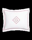 Sateen G Pillowcase 50x60 Mahogany red