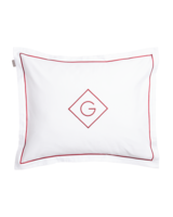 Sateen G Pillowcase 50x60 Mahogany red