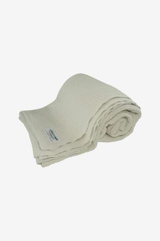 Lovely Cotton Blanket 150x220 Off-white