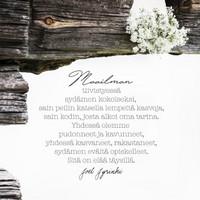 Joel Jyrinki postcard