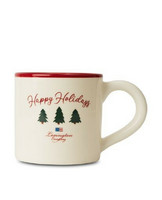 Holiday Earthenware Mug White
