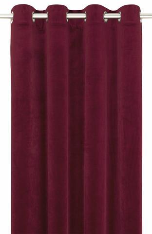 Elise Sametti verhosetti Punainen 135x250