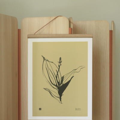 Teemu Järvi Poster Lily of the valley 30 x 40 cm