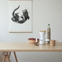 Teemu Järvi juliste  Otter  30 x 40 cm
