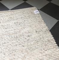 Wool carpet Merino 140 x 200 cm naturbeige