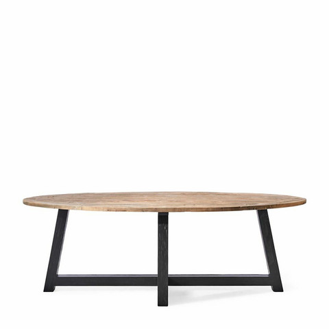 Canyamel Dining Table 140 dia Black Legs