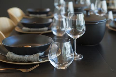 Maku Ceramic Plate black 27 cm