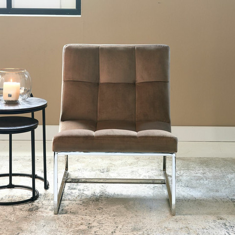 Thompson Place Chair Vel III GlMink