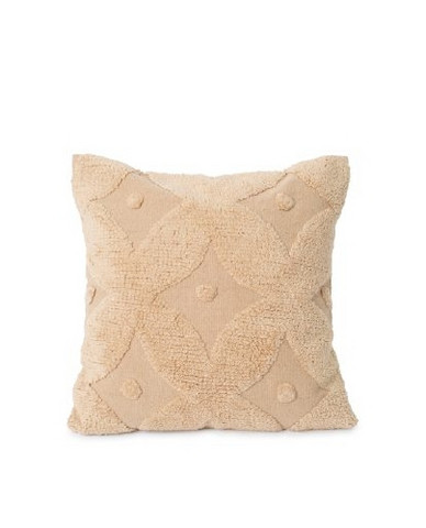 Embroidered Cotton Canvas Pillow Cover