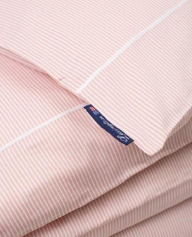 Pink/White Striped Tencel/Cotton Duvet Cover