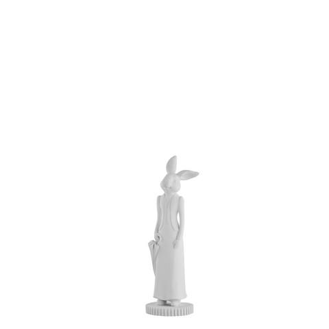 Semina Rabbit h 19 cm White
