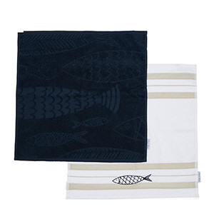 The Seafood Kitchen Towel 2 pieces