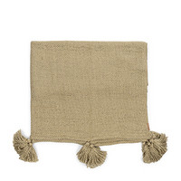 Fleurs Tassle Throw 170x130