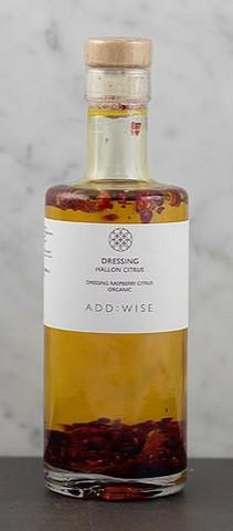 Dressing hallon/citrus 250ml EKO