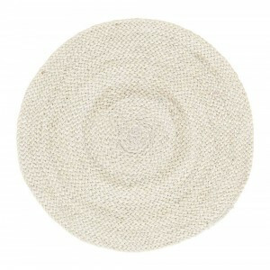Dixie Placemat Braided white d38 cm