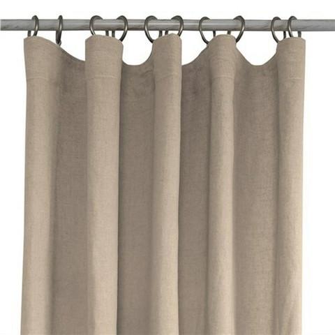 Linen FH Curtain 130x250 Beige Linen