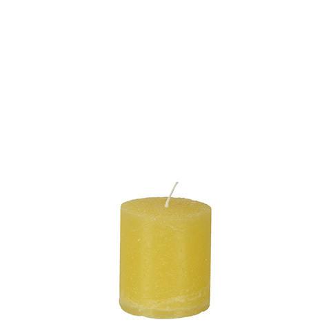 COTE NORD Pöytäkynttilä keltainen