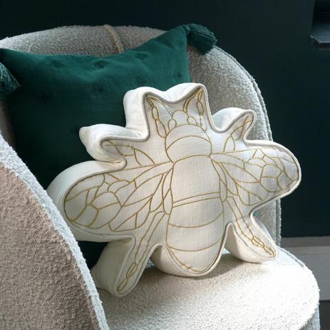 Happy Bee Box Pillow