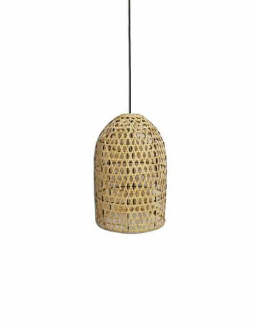 Bali rottinkinen lampunvarjostin