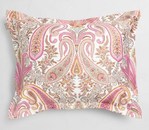 Key West Paisley tyynyliina pinkki