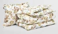 Blooming bedding set 150 x 210/50 x 60 cm