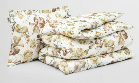 Blooming bedding set 220 x 220 /50 x 60 cm
