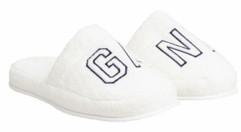 Vacay Slippers white