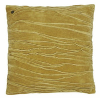 Traces cushion cover ocra 50 x50 cm