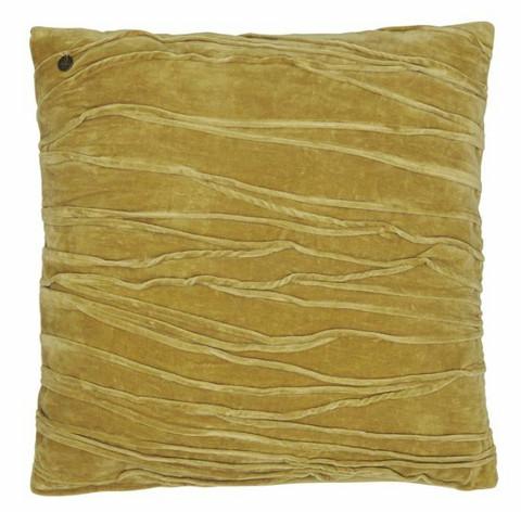 Traces cushion cover ocra 50 x50 cm