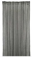 Mirja Curtain set 130x275 dark grey