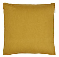 Sabina pellava tyynynpäällinen keltainen 45 x 45 cm