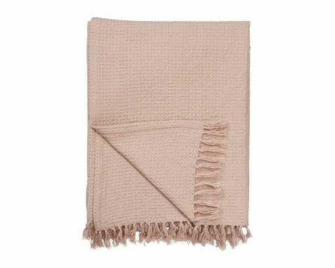 Svanefors Alice blanket 130 x 170 cm cotton pink