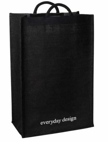 Everyday Design Turku XL jutebag black