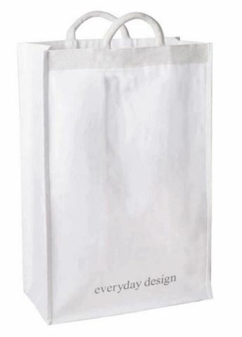 Everyday Design Turku XL cotton-canvasbag white