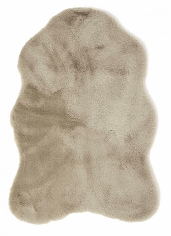 Fluffy fake sheep skin Taupe