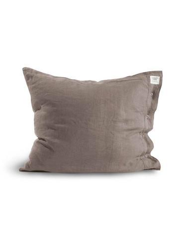 Lovely Linen Misty pillow case 50 x 60 cm grey