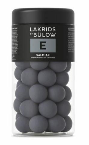 E - SALMIAK CHOCOLATE COATED LIQUORICE regular 295g