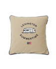 Airstreamer Cotton Canvas Pillow cover  beige 50 x 50 cm