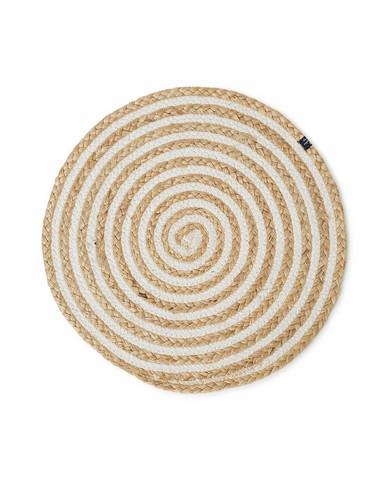 Round Cotton/Jute Placemat