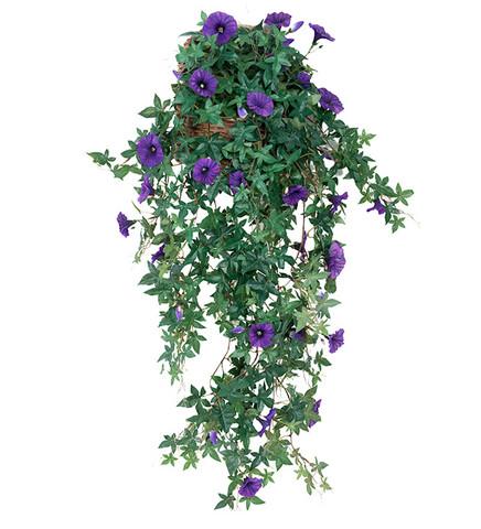 Summer flower in the basket 95 cm