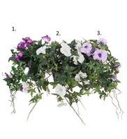 Summer flower dark purple 45 cm (nro1)