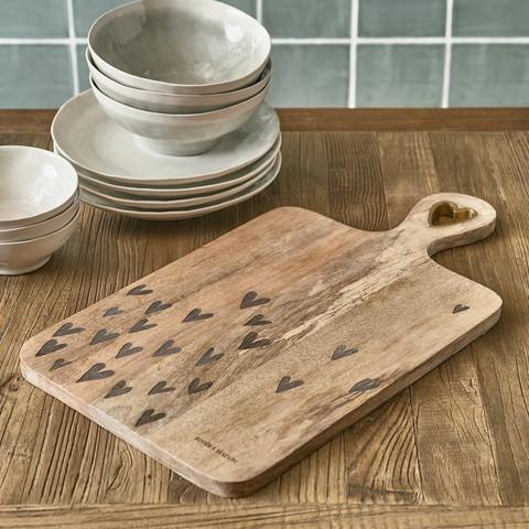 Happy Hearts Chopping Board