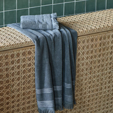 Serene Towel anthracite 70x140 cm